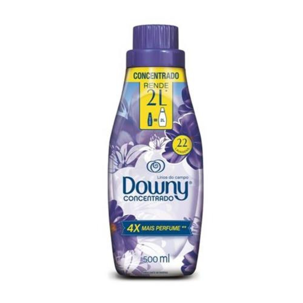 AMACIANTE DOWNY CONCENTRADO LIRIOS DO CAMPO500ML