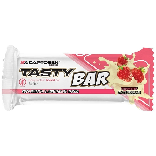 BARRA TASTY BAR ADAPTOGEN STRAWBERRUY 51G