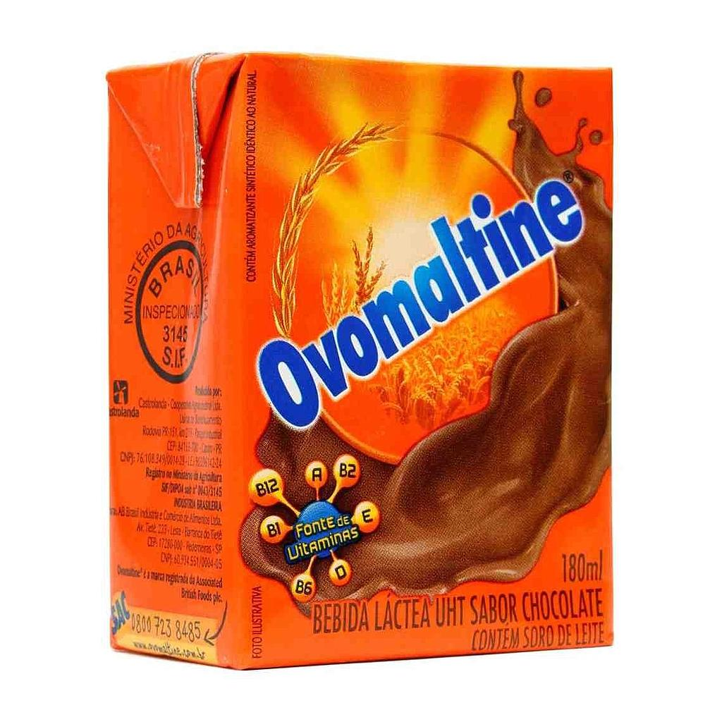 BEBIDA LACTEA OVOMALTINE CHOCOLATE 180ML