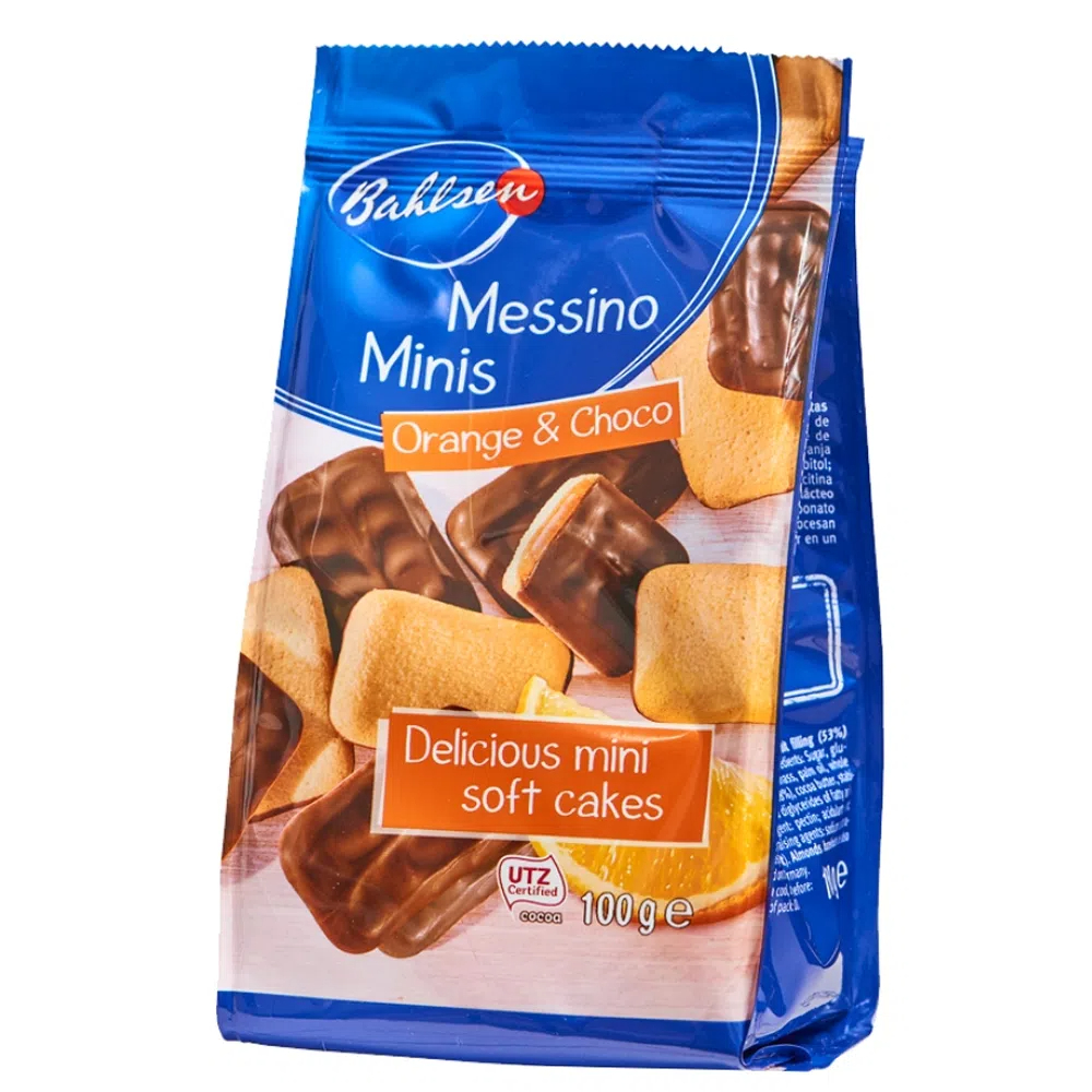 BISCOITO ALE BAHLSEN MINI MESSINO 100G