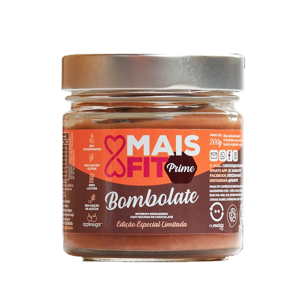 BOMBOLATE MAIS FIT 200G
